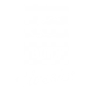 BOAR Classics - Logo white on black